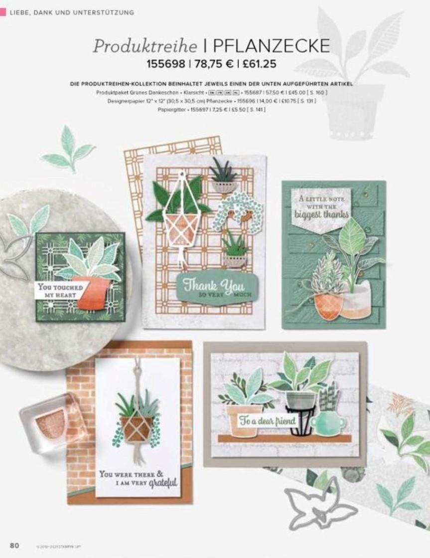 Produktreihe Pflanzenecke
